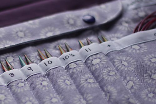 Interchangeable knitting needle case by mybonnykate on Ravelry