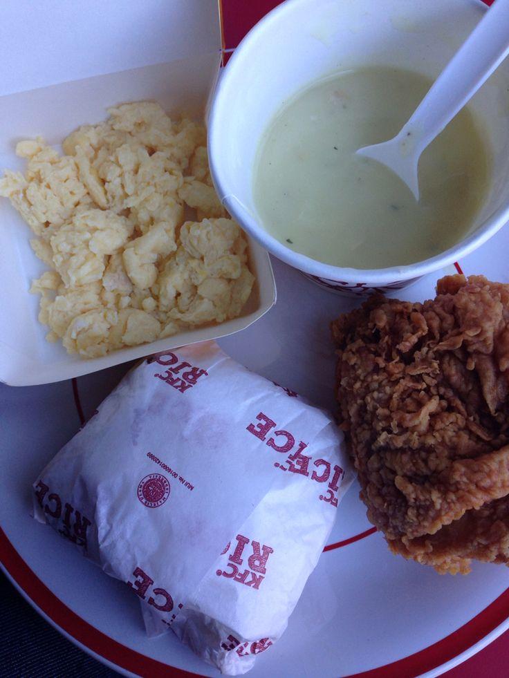 KFC Breakfast Menu