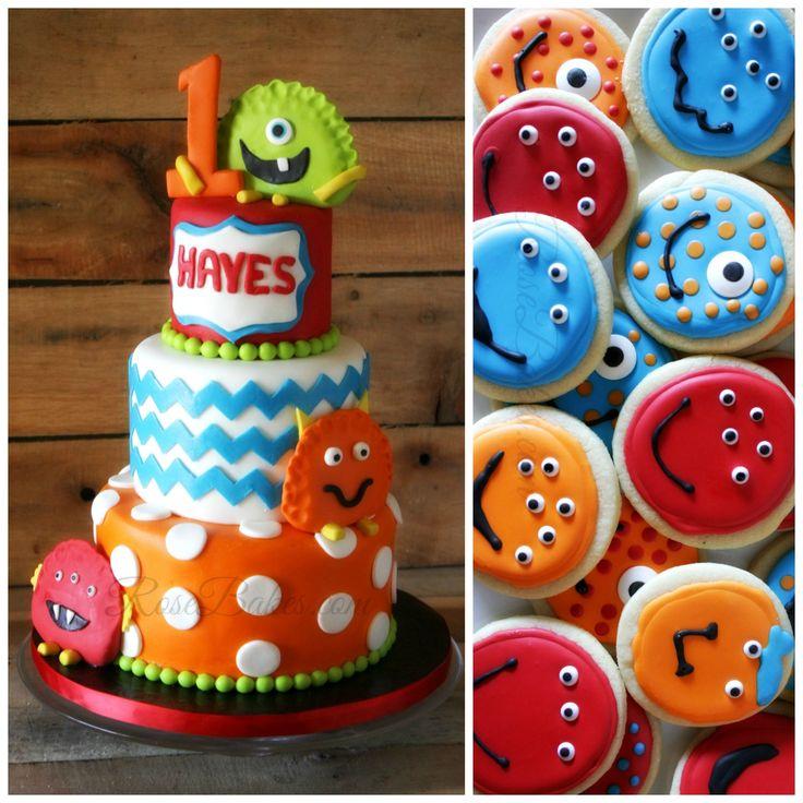 74 best Little Monster Cake Smash Boy 1st Birthday images on
