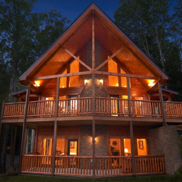 Dark Brown W Brown Roof Minocqua Chain Home My Lake Home See More