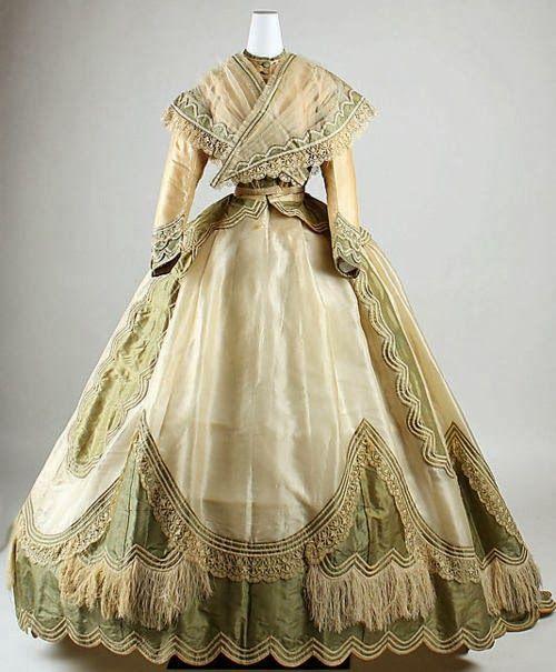 Historical Wedding Gowns: Dress 1865, The Metropolitan Museum Of Art