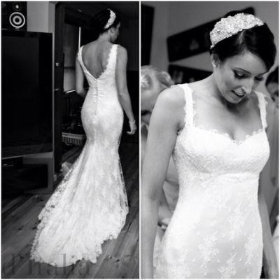 Lace Wedding Dress with Sweetheart Neckline www.ditalia.com.au/blogs/article/lace-sweetheart-wedding-dress #fashion #fashiondesign #bridalgown #bride #fabric #dressmaker #dressmaking #melbourne