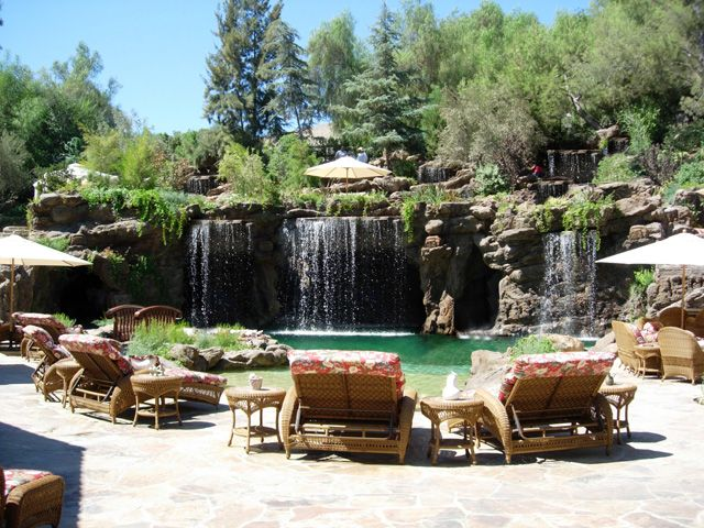Serving the greater los angeles area ultimate water for Swimming pool waterfalls construction
