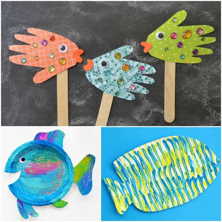 Fish Crafts Preschool, Fish Crafts