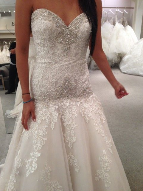 Danielle Caprese Size 3 Wedding Dress – OnceWed.com