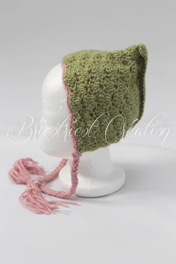 Venez voir ce magnifique chapeau vintage pour bébé #hat #vintage #pixie