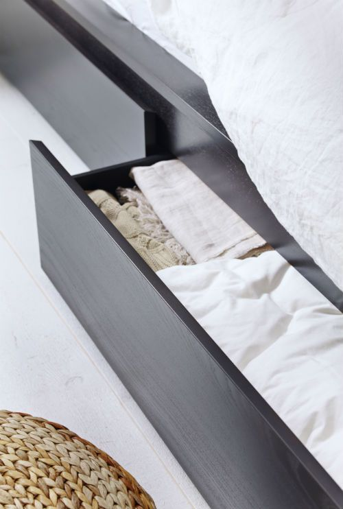 Ikea Malm Under Bed Storage ~   IKEA UNDER BED STORAGE on Pinterest  Malm, Ikea and Storage beds
