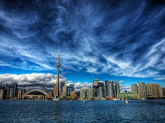 Toronto Skyline by NeilAlderney#Repin By:Pinterest++ for iPad#