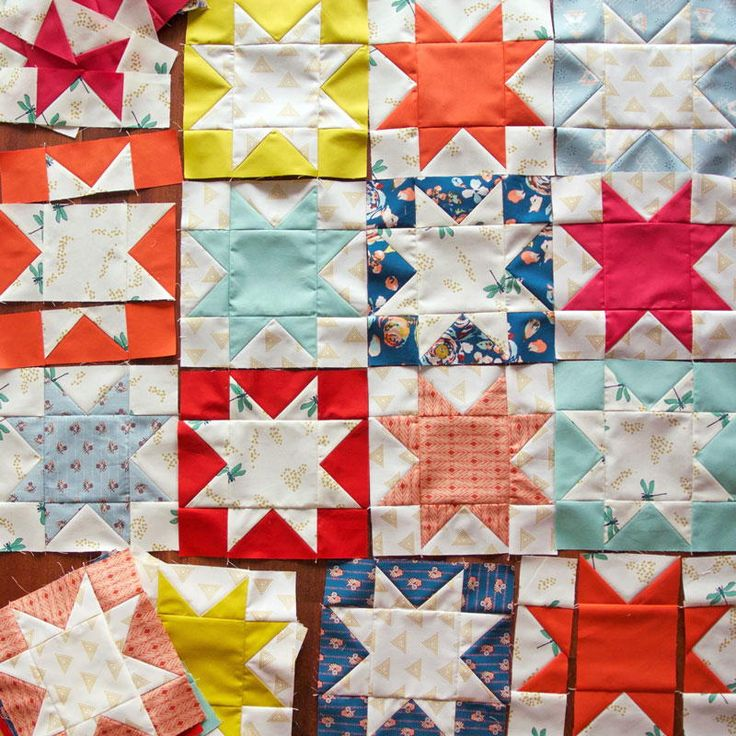 34 best images about Star Quilt Patterns on Pinterest Manzanita, Block patterns and Cathedral ...