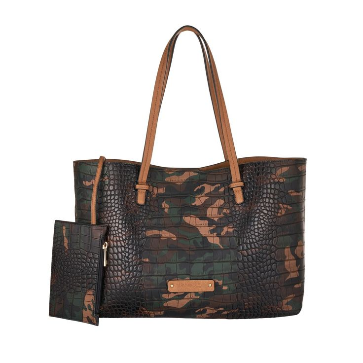 Tote De L'amour Camouflage Green