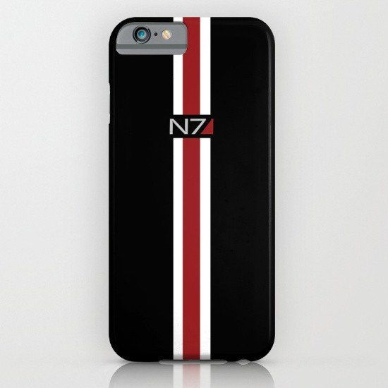 Mass Effect N7 logo iphone case, smartphone