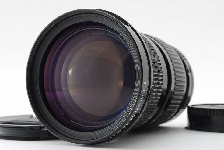 【EXC+++++】Canon FD 35-105mm f/3.5 MF Lens W/ Front CapTESTED from Japan 395 #Canon