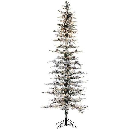 6-Ft. Snow Lodge Slim Pine Pre-Lit Christmas Tree - Indoor