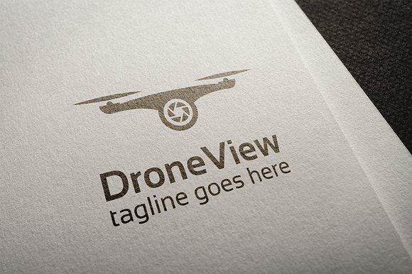 "#drone #logo template available for sale @creativemarket  fully editable and resizable vector shaped logo, for more images and details click on the ""visit"" pinterest button"