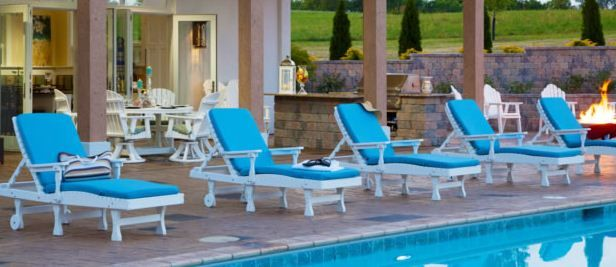 Berlin Gardens Outdoor Furniture is proudly manufactured in the USA by skilled Amish Craftsman. Our patio furniture is constructed from the highest quality recycled plastic poly lumber material available and offered in 20 UV stabilized colors. Berlin Gardens Furniture delivers unsurpassed comfort with generous curves and contours making our patio furniture amazingly comfortable.
