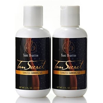 Toni Brattin&;+Tan+Secret+Sunless+Tanning+Gel+Duo+5+oz Each