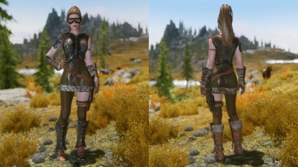 Girl's Heavy Armors SE at Skyrim Special Edition Nexus - Mods and