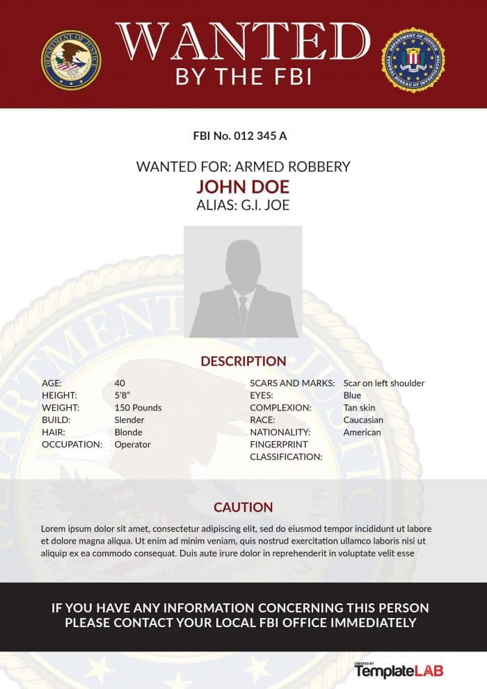 14 Wanted Poster Templates Poster Template Wanted Poster