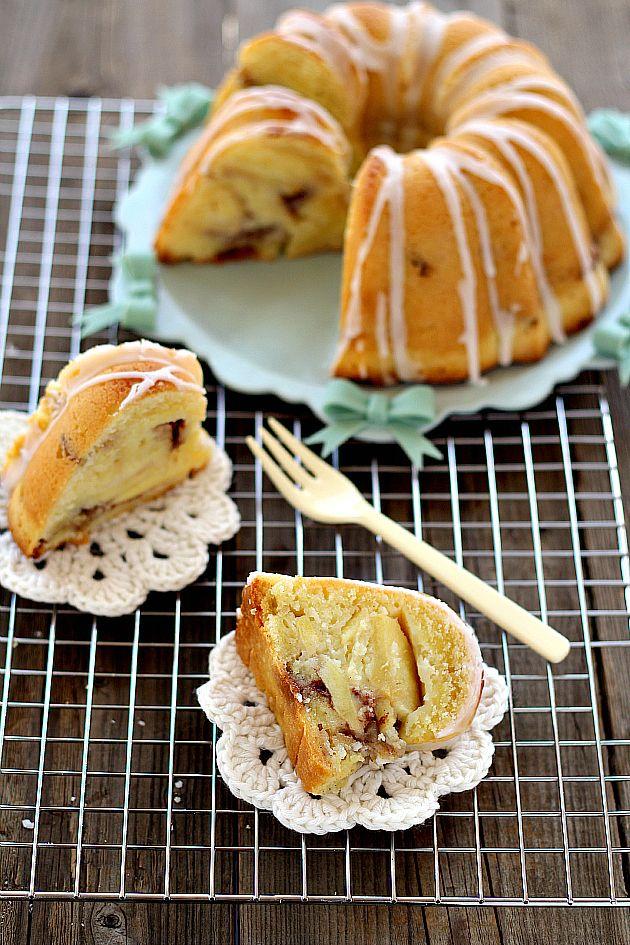 torta di mele, noci e cannella, apple walnut cinnamon cake