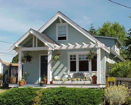 How To Design A Front Porch: Traditional Porch With Pergola ~ wetwillieblog.com Classic Home Designs Inspiration