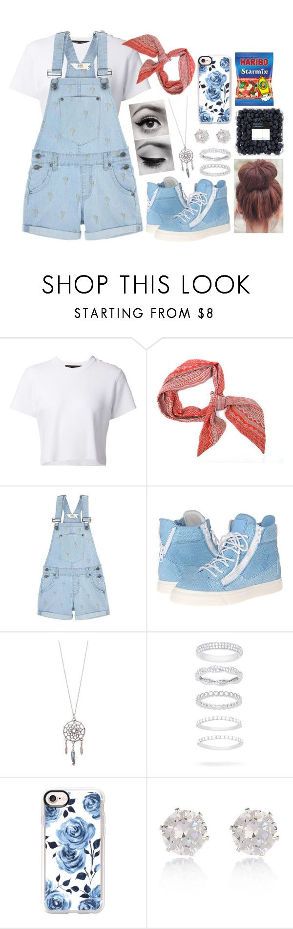 """#336"" by moon-and-starss ❤ liked on Polyvore featuring Proenza Schouler, ElevenParis, Giuseppe Zanotti, Belk Silverworks, Casetify and River Island"