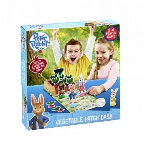 "Peter Rabbit & Friends ""Vegetable Patch Dash"" Board Game"