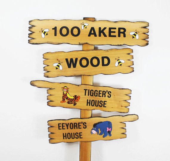 Hundred Acre Wood Winnie The Pooh Disney Themed By