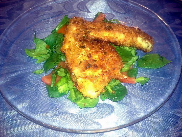 Parmigiano Panko Herb Encrusted Chicken Breasts Recipe ...
