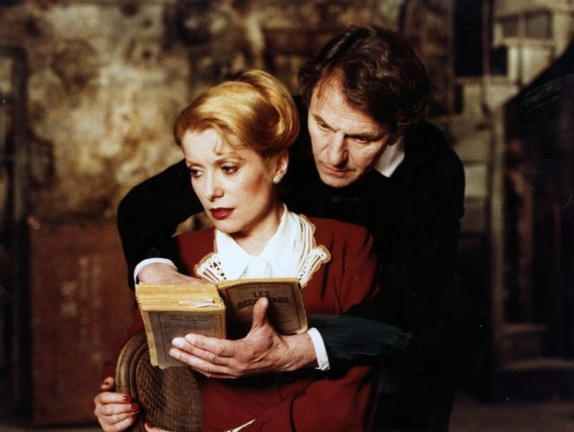 Still of Catherine Deneuve and Heinz Bennent in The Last Metro
