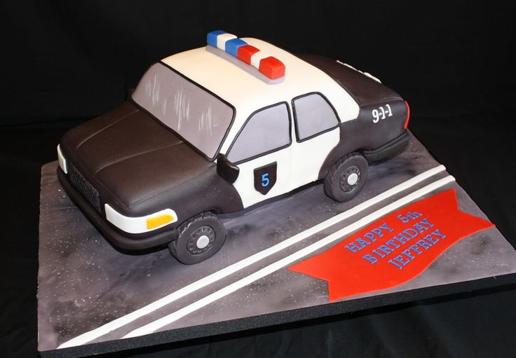 Police Car Cake Design : 25+ best ideas about Police Car Cakes on Pinterest ...