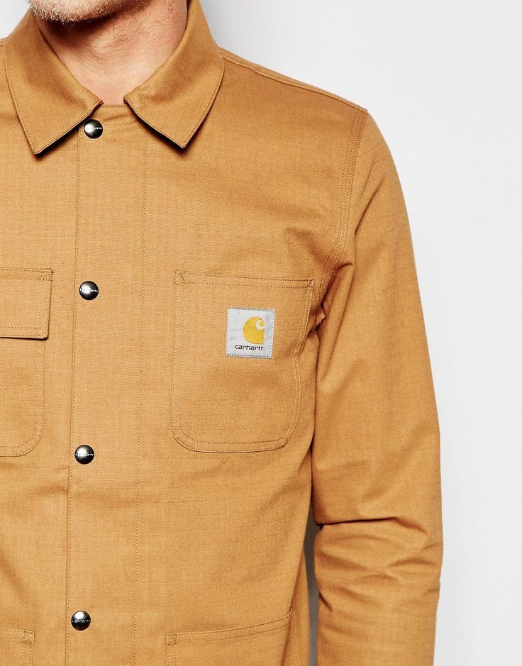 Take cover in this Carhartt jacket