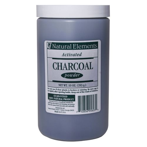 Buy Activated Charcoal Powder, Bulk Charcoal Powder, 10 oz -by Natural Elements