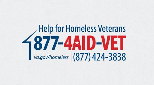 Access the VA's services for homeless and at-risk veterans, available 24/7. Call or chat online with Homeless Veteran Chat. It is confidential, 24/7 online support for veterans and friends @VeteransCrisisLine.net