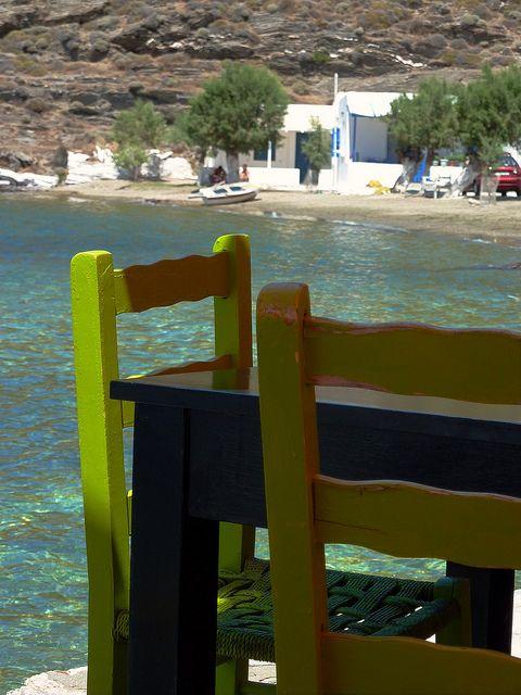 Aghia Irini beach, Kythnos island, Cyclades, Greece