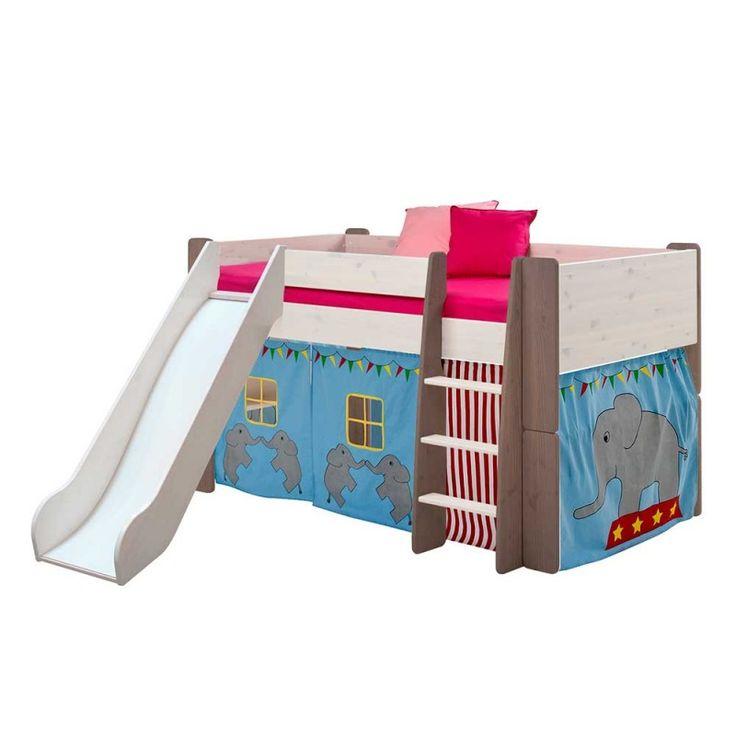 Awesome Halbhochbett im Zirkus Design Rutsche von Dreaming Forest Kinder u Jugendbetten g nstig online kaufen bei M bel u Garten