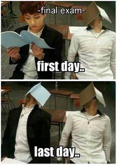 *Záróvizsga* Első nap... Utolsó nap...