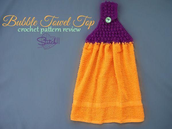 Bubble Towel Top – Crochet Pattern Review