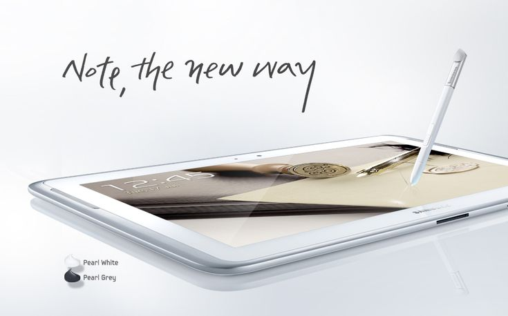 The new NOTE 10.1 consumes 30% less power with the PenTile RG-BW LCD display