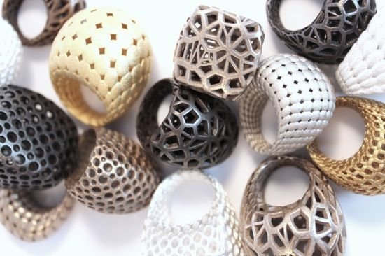 17 best ideas about 3d printed jewelry on pinterest brooch crystal ring and contemporary. Black Bedroom Furniture Sets. Home Design Ideas
