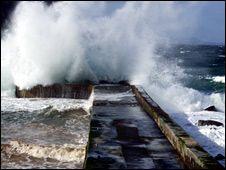 Crovie Pier [Pic: Crovie Preservation Society]