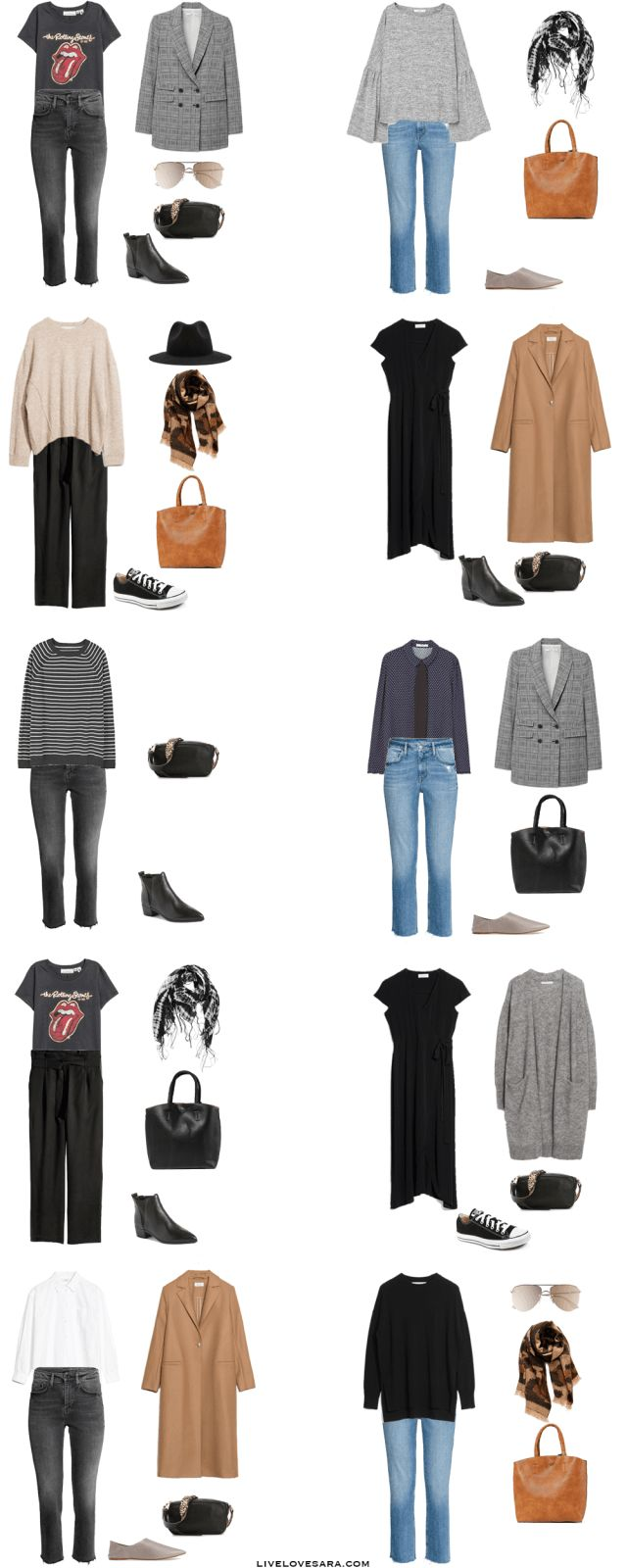 What to Pack for 10 Days in Germany Packing Light List Outfit Options 1-10