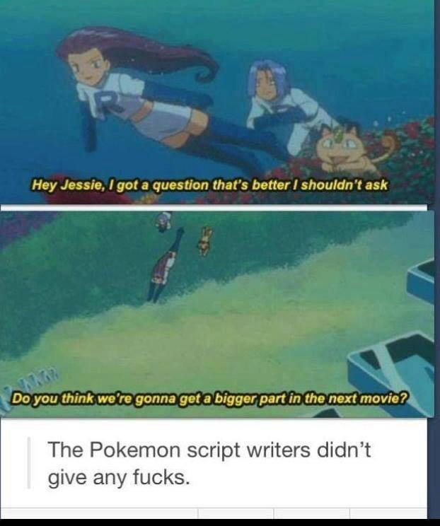 Team Rocket: breaking the fourth wall before it was cool