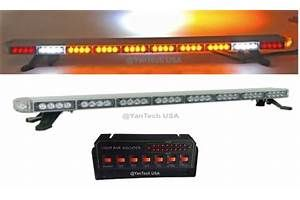 50 LED Amber Light Bar Flashing Tow/Plow Truck Wrecker W  870x518