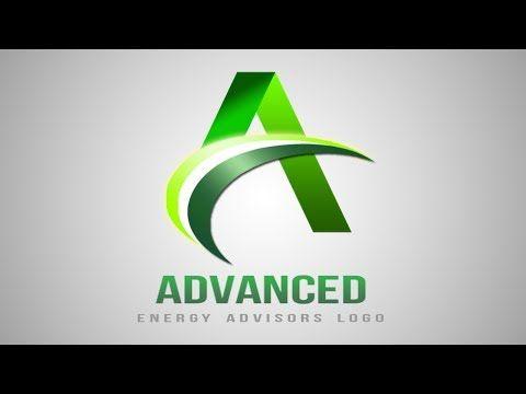 photoshop tutorial logo design a letter logo design adobe