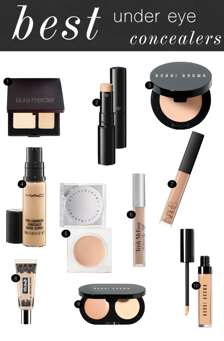 10 best under eye concealers  |  kiki's list