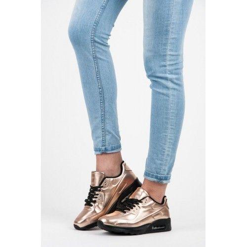 Dámské tenisky Daqiel zlaté AKCE – zlatá Praktické a maximálně trendy! Přesně takto stačí popsat tyto zlato-černé tenisky. Jejich zpracování a vzhled se nedá prostě přehlédnout. Oblečte si džíny nebo tepláky a vyražte kamkoliv se …