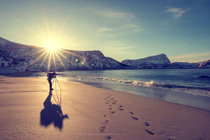 Haukland beach - null