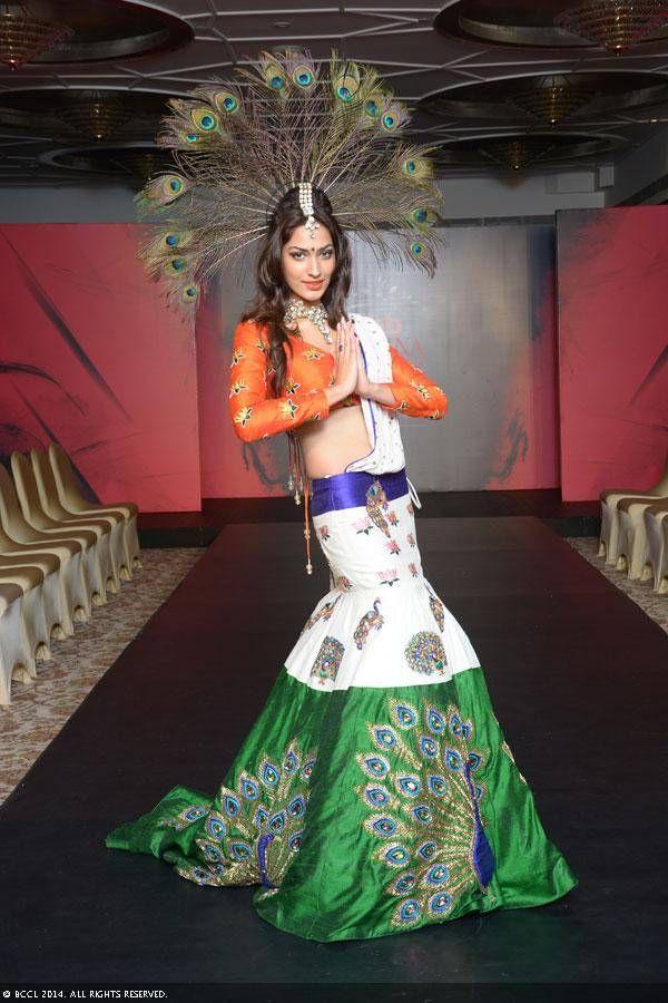 Femina miss india 2014 finalist jhataleka malhotra during the national