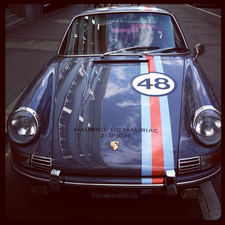1968 Porsche 911 in Mauriac Design  www.mauricedemauriac.ch