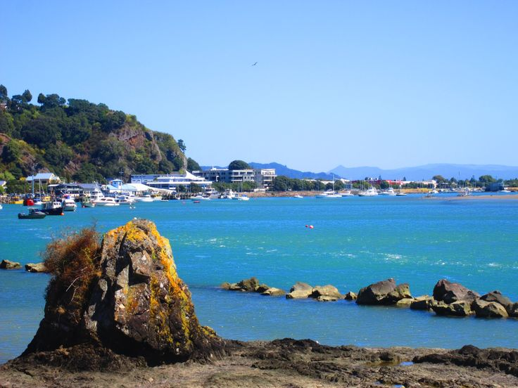 Along the river mouth back into Whakatane town